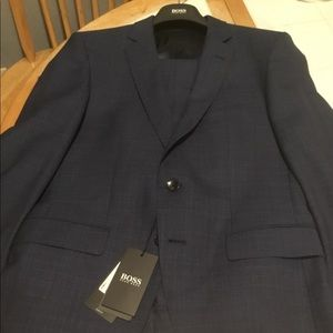 Dark blue Hugo Boss suit